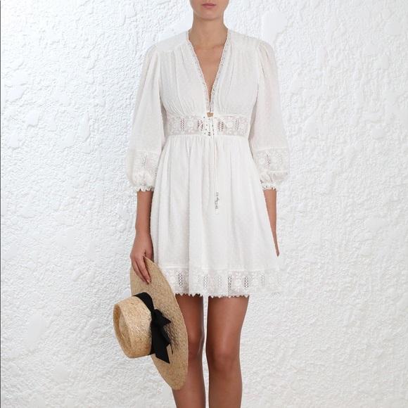 32464e5e74 Zimmerman Iris Corset Waist Dress NWT